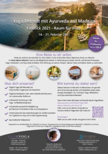 Yoga Reise mit Ayurveda auf Madeira in Portugal