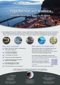 Yoga Retreat Madeira 2022